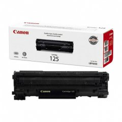 Canon 3484B001AA (125) OEM Black Laser Toner Cartridge