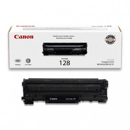 Canon 3500B001AA (128) OEM Black Laser Toner Cartridge