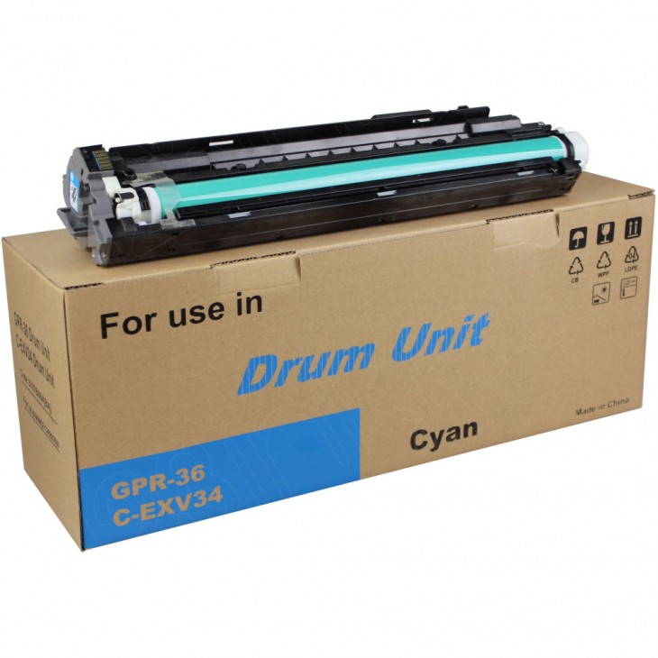 Canon 3787B004BA (GPR-36) Cyan OEM Laser Drum