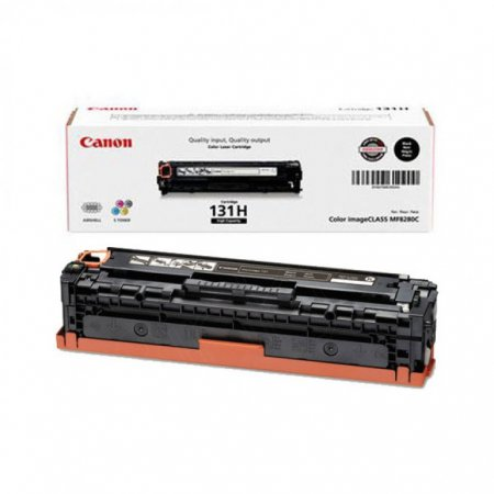 Canon 6273B001AA (131 II) High Yield Black OEM Toner Cartridge