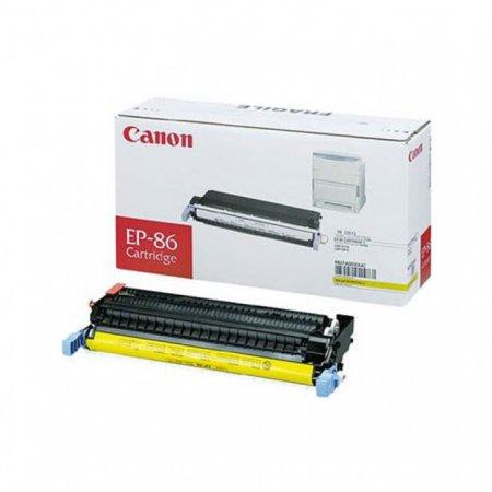 Canon 6827A004AA (EP-86) OEM Yellow Laser Toner Cartridge