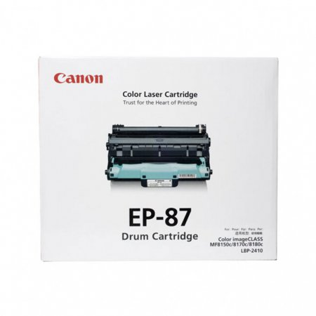 Canon 7429A005AA (EP-87) OEM Laser Drum Cartridge