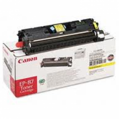 Canon 7430A005AA (EP-87) OEM Yellow Laser Toner Cartridge