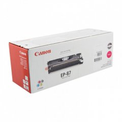 Canon 7431A005AA (EP-87) OEM Magenta Laser Toner Cartridge