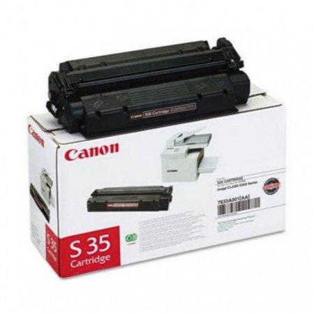 Canon 7833A001AA (S35) OEM Black Laser Toner Cartridge