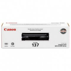 Genuine Canon 137 Black Toner