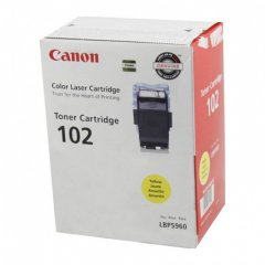 Canon 9642A006AA (CRG-102) OEM Yellow Laser Toner Cartridge