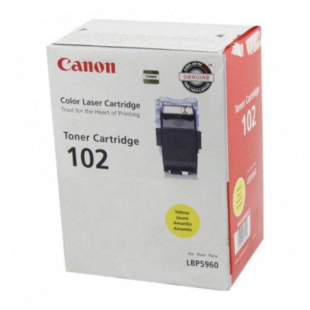 Canon 9642A006AA (CRG-102) OEM Yellow Laser Toner Cartridge