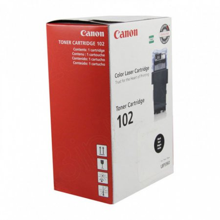 Canon 9645A006AA (CRG-102) OEM Black Laser Toner Cartridge