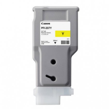 Canon OEM PFI-207Y Yellow Ink