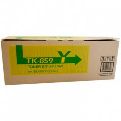 Copystar TK859Y Yellow Toner Cartridges