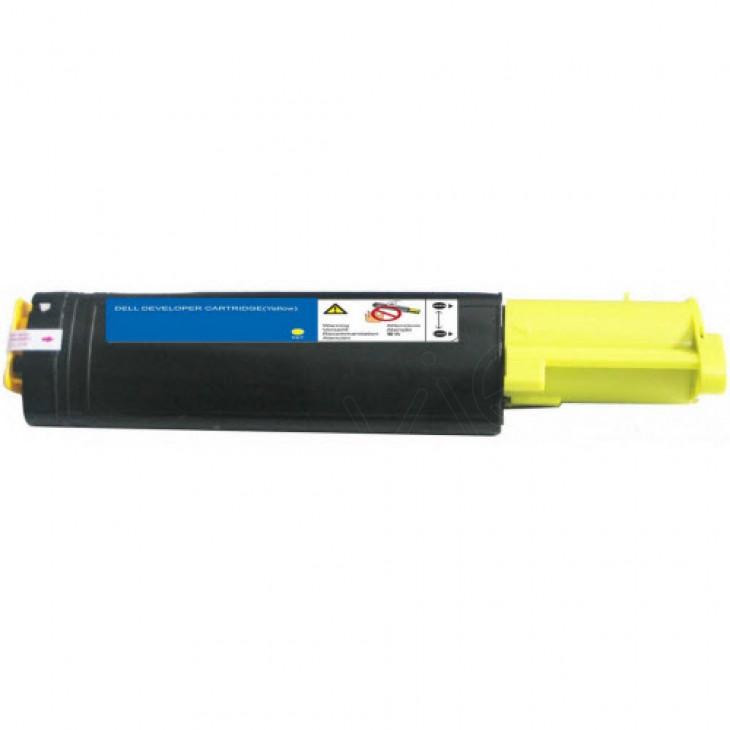 Dell 310-5729 (K5361) HY Yellow OEM Toner Cartridge for 3100cn