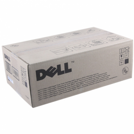 Dell 330-1194 (G479F) Cyan OEM Toner Cartridge for 3130