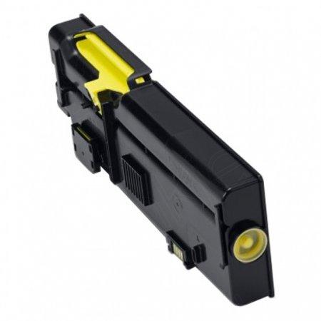 Dell 593-BBBR (YR3W3) High Yield Yellow OEM Toner Cartridge