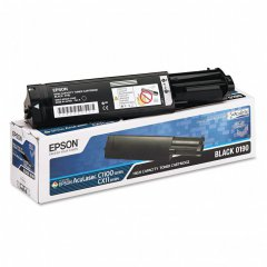 Epson 0190 Black Toner Cartridge S050190, Original Epson OEM