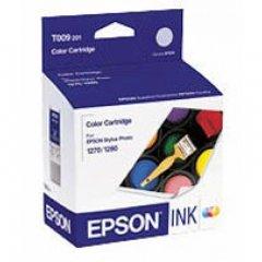Epson T009201 Ink Cartridge, Color, OEM