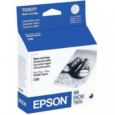 Epson T028201 Ink Cartridge, Black, OEM