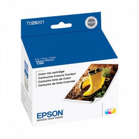 Epson T029201 Ink Cartridge, Color, OEM