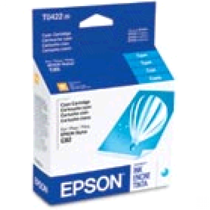 Epson T042220 Ink Cartridge, Cyan, OEM