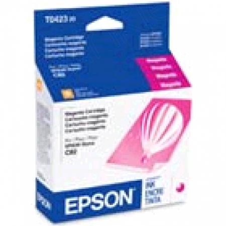 Epson T042320 Ink Cartridge, Magenta, OEM