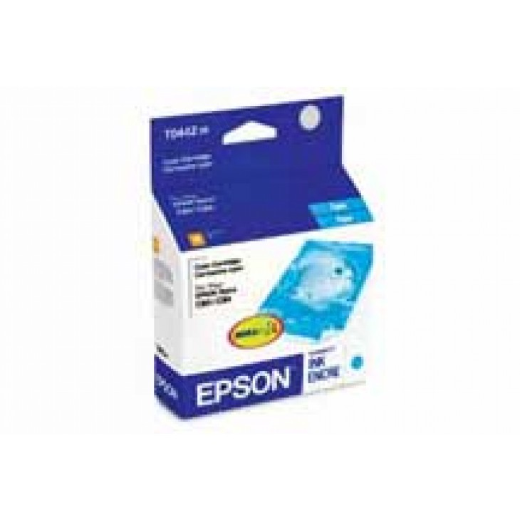 Epson T044220 Ink Cartridge, Cyan, OEM