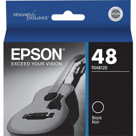 Epson T048120 Ink Cartridge, Black, OEM