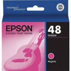 Epson T048320 Ink Cartridge, Magenta, OEM