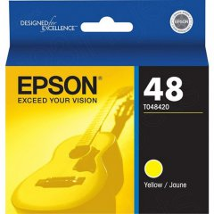 Epson T048420 Ink Cartridge, Yellow, OEM
