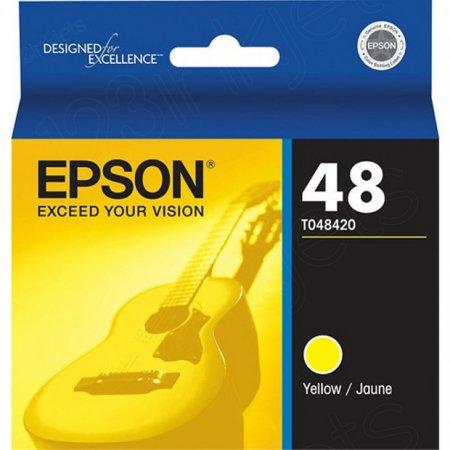 Epson T048420 Ink Cartridge, Yellow, OEM