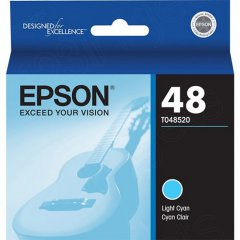 Epson T048520 Ink Cartridge, Light Cyan, OEM
