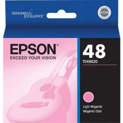 Epson T048620 Ink Cartridge, Light Magenta, OEM