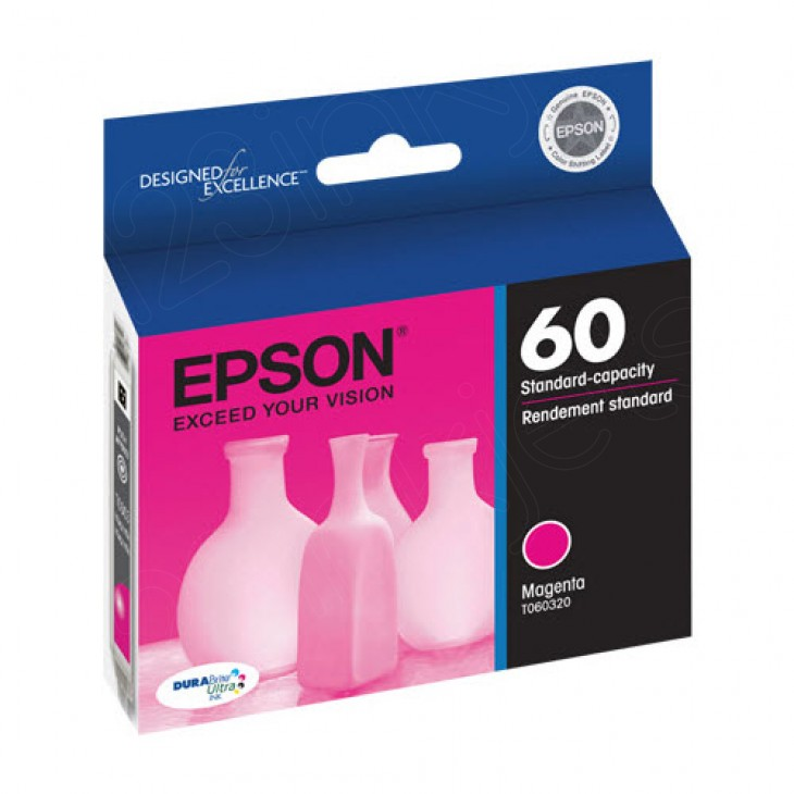 Epson T060320 Ink Cartridge, Magenta, OEM