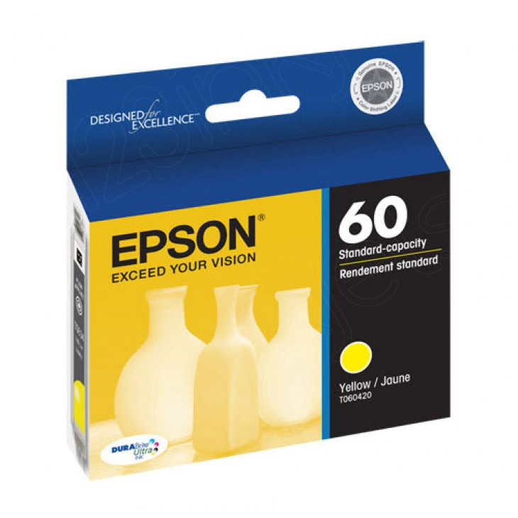 Epson T060420 Ink Cartridge, Yellow, OEM