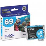 Epson T069220 Ink Cartridge, Cyan, OEM