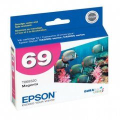 Epson T069320 Ink Cartridge, Magenta, OEM