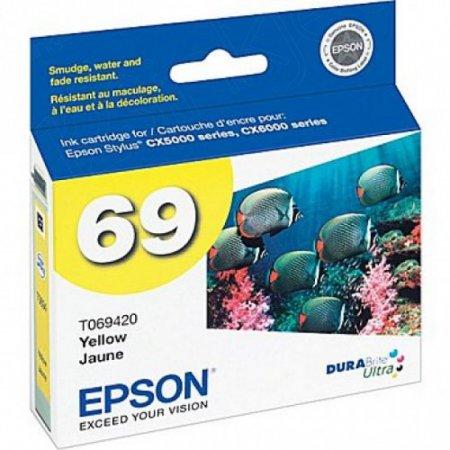 Epson T069420 Ink Cartridge, Yellow, OEM