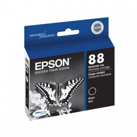 Epson T088210 Ink Cartridge, Black, OEM