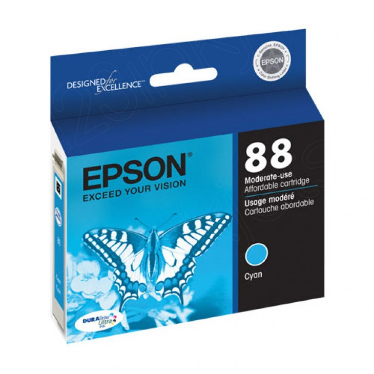 Epson T088210 Ink Cartridge, Cyan, OEM