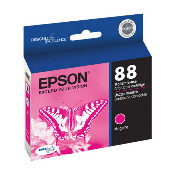 Epson T088310 Ink Cartridge, Magenta, OEM