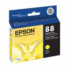 Epson T088410 Ink Cartridge, Yellow, OEM