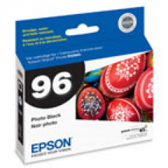 Epson T096120 Ink Cartridge, Photo Black, OEM