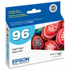 Epson T096520 Ink Cartridge, Light Cyan, OEM