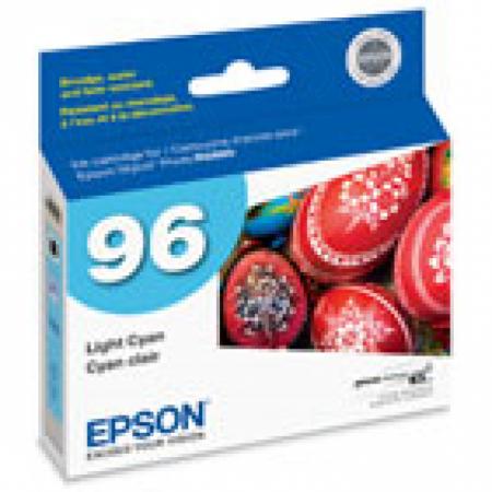 Epson T096520 Ink Cartridge, Light Cyan, OEM