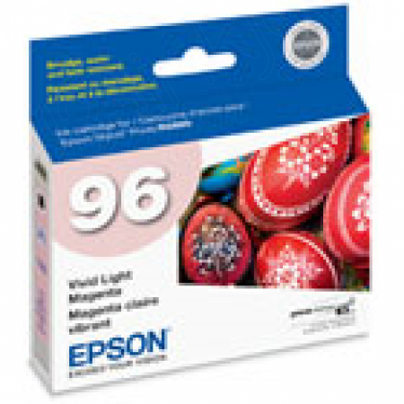 Epson T096620 Ink Cartridge, Vivid Light Magenta, OEM