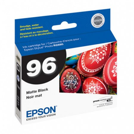 Epson T096820 Ink Cartridge, Matte Black, OEM