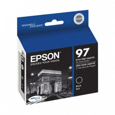 Epson T097120 Ink Cartridge, Extra High Yield Black, OEM