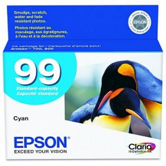 Epson T099220 Ink Cartridge, Cyan, OEM