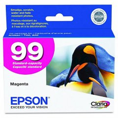 Epson T099320 Ink Cartridge, Magenta, OEM