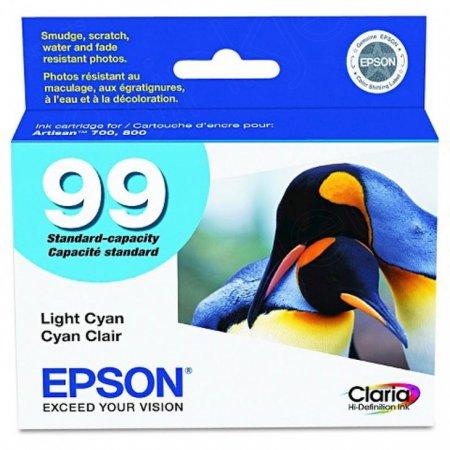 Epson T099520 Ink Cartridge, Light Cyan, OEM