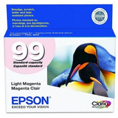 Epson T099620 Ink Cartridge, Light Magenta, OEM